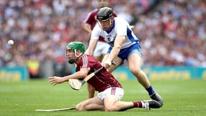 David Burke captained Galway to the All-Ireland title