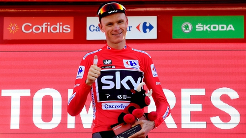 Chris Froome is closing in on another Grand Tour win