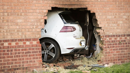Vehicle crashes into a house in York