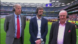 Cyril Farrell: Galway's leaders stood up | The Sunday Game