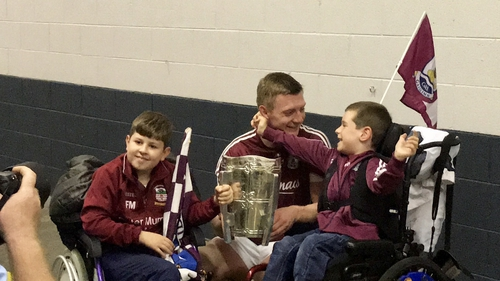 Joe Canning found time for fans in aftermath of his first All-Ireland title