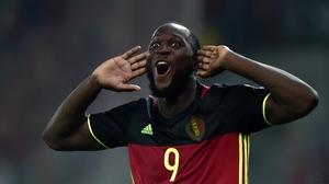 Romelu Lukaku headed the winner for Belgium