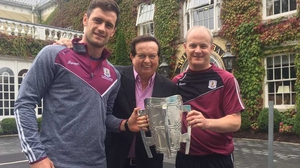 David Burke, Marty Morrissey and Micheal Donoghue