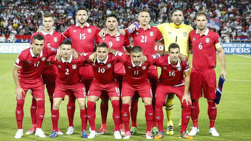 Výsledek obrázku pro serbia national football team