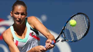 Karolina Pliskova cruised into the last eight