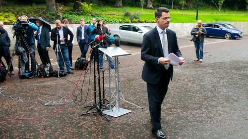 James Brokenshire had discussions with the five parties in Stormont today