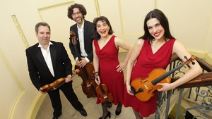 The RTÉ Contempo Quartet - performing at this year's Music In Monkstown festival.