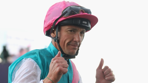 Frankie Dettori will race in the Curragh on Saturday