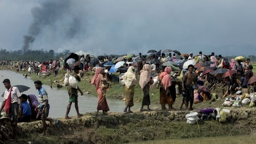 Around 700,000 Rohingya Muslims fled to Bangladesh after Myanmar launched a crackdown on insurgents last August