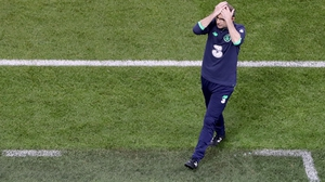 It was a frustrating night for Ireland manager Martin O'Neill