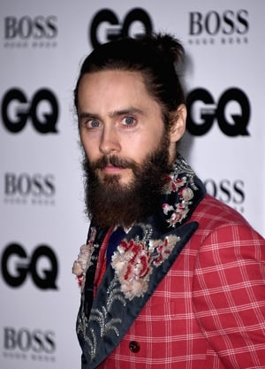 Jared Leto picked up the 'Actor of the Year' award while wearing an eye-catchig tweed red checkered suit with embellished lapels.