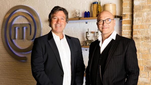 Celebrity MasterChef judges John Torode and Greg Wallace