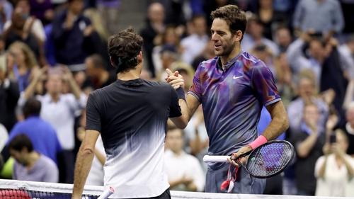 Del Potro upsets Federer in US Open quarterfinals