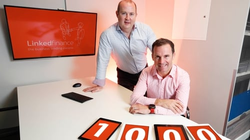 Linked Finance's Niall Dorrian and Big Red Cloud's Marc O'Dwyer