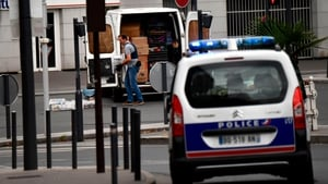 Police raided the flat in Paris following a tip-off from someone who works in the building