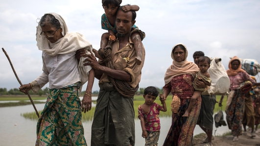Rohingya crisis: Civilians 'maimed by landmines'