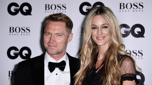 Ronan and Storm Keating attend the GQ Men Of The Year Awards