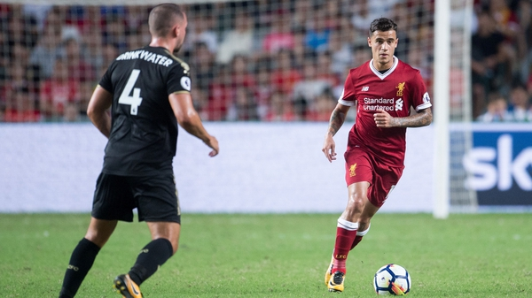 Coutinho handed in a transfer request almost a month ago in an attempt to force through a move to Barcelona