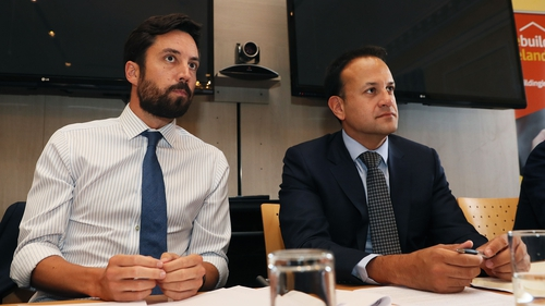 Eoghan Murphy and Leo Varadkar are discussing a solutions to the crisis