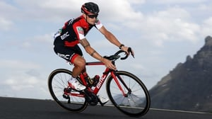 Nicolas Roche finished eighth in stage 19