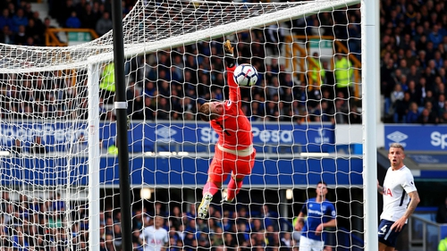 Jordan Pickford is hoping to finish in the European places with Everton