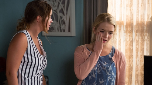 Lauren slaps Abi on EastEnders