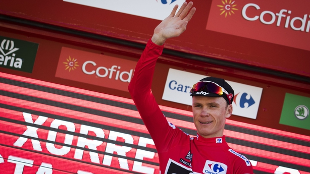 Chris Froome protests innocence after asthma drug revelation