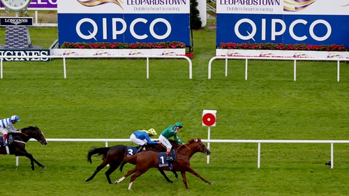 Decorated Knight swoops late to win Champion Stakes