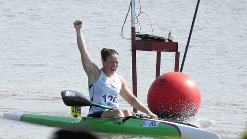 Jenny Egan claimed Ireland's first even sprint medal at theWorld Championships