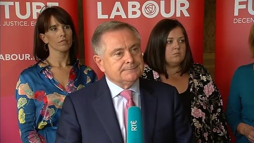 Leader of the Labour Party Brendan Howlin