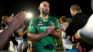 John Muldoon leaves the pitch after Connacht's defeat of the Southern Kings