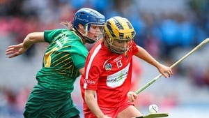 Cork's Rachel O'Shea with Aoife Maguire of Meath