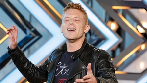 Aidan Martin left judges spellbound with his original song
