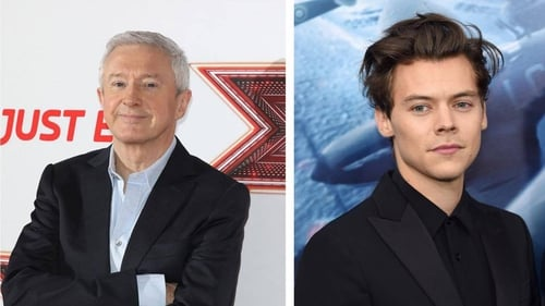 """Louis Walsh - """"He knows what he wants, he's ambitious, and he works hard."""""""