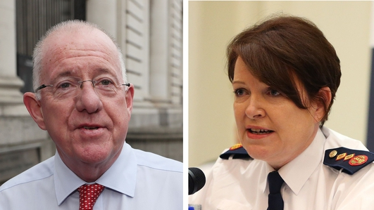 Minister for Justice told Commissioner might retire