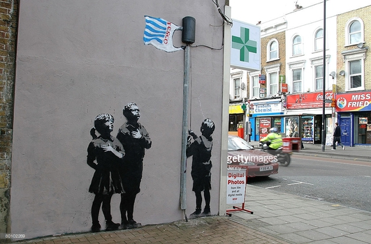 20 years of street art by Banksy