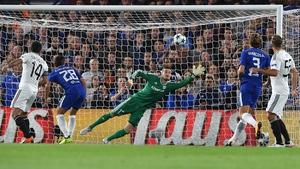 Chelsea hit six past Qarabag