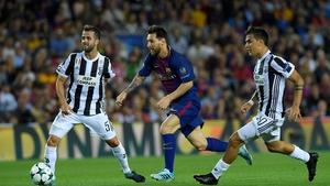 Lionel Messi and Barcelona swept  Juve inside