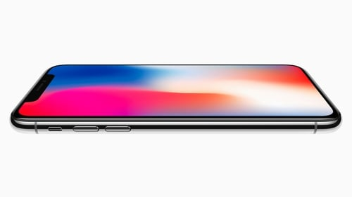 The new iPhone X has 5.8 inch Super Retina display with HDR which covers almost the entire front of the phone