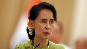 Aung San Suu Kyi was given the award in 1999 and collected it in 2012