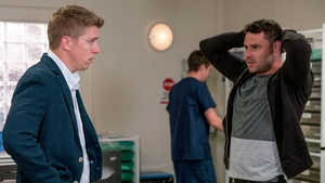 Aaron is furious when the truth about Robert's actions is uncovered