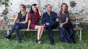 The Corrs: sitting pretty