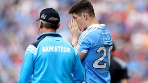 Jim Gavin brought on Diarmuid Connolly in the 70th minute against Tyrone