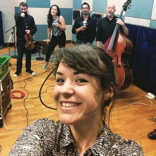 Emma Langford in session