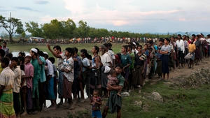 Over 430,000 people, mostly Rohingya Muslims, have fled from Myanmar in recent weeks and crossed into Bangladesh