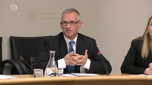 ESRI Director Alan Barrett was speaking at the Oireachtas Budgetary Oversight Committee this afternoon