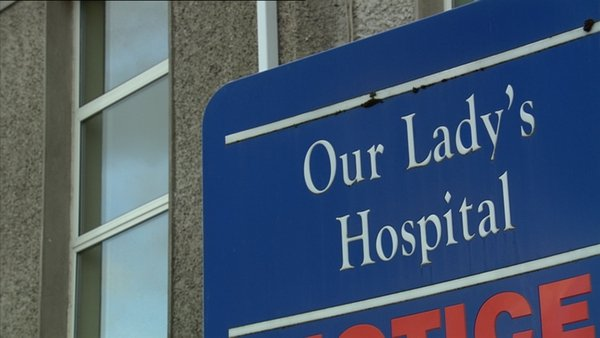 The hospital said the situation is under review and procedures will resume as soon as possible