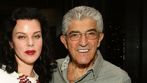 Frank Vincent and fellow Goodfellas star Debi Mazar