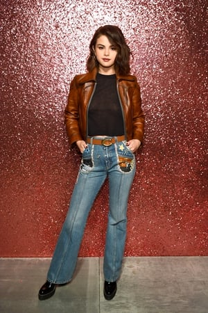 Selena Gomez attends Coach Spring 2019 fashion show at Pier 36.