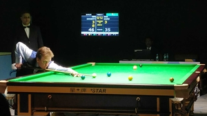 Ken Doherty said he was 'delighted' to win his game